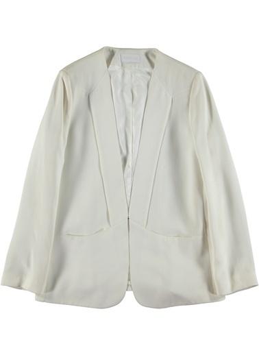 Fabrika Ceket Beyaz